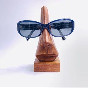 Nine West NW501S Blue Oval Sunglasses Frames